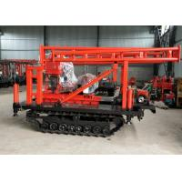 China Mountain 42mm 200m Trailer Mounted Drilling Rigs wholesale