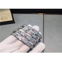 China Cartier Love Bracelet 18K White Gold Diamond-Paved full diamond is cartier jewelry real gold wholesale