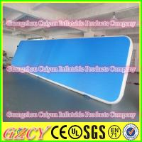 China Gymnastic Club Air Mat School Inflatable Gym Floor wholesale