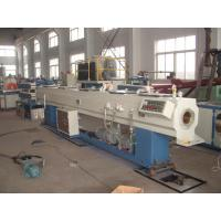 China Full Automatic PVC Plastic Pipe Extrusion Line With Simens Motor wholesale