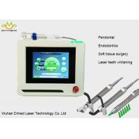 China 980 nm Diode Frenectomy Laser For Dental Treatment No Bleeding No Sewing wholesale