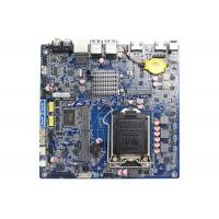 China LGA1151 Mini Itx Industrial Motherboard For 4K , 4 COM Ports , Dual HDMI 4K Display wholesale