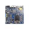 Buy cheap LGA1151 Mini Itx Industrial Motherboard For 4K , 4 COM Ports , Dual HDMI 4K from wholesalers
