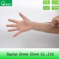 China Industrial synthetic vinyl gloves powder free vinyl gloves XLarge size on sale