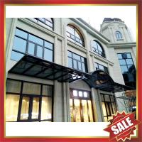 Buy cheap excellent waterproofing rain sun hotel patio gazebo balcony corridor porch aluminium polycarbonate awning canopy shelter from wholesalers
