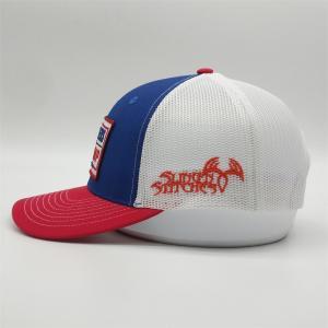 China High Quality Trump Trucker Hats,Custom Logo Trucker Caps,6 Panel Low Profile Hunters Mesh Trump Hat wholesale