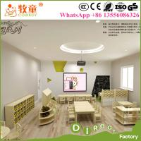 China Hot sale Kids wood material and new kindergarten furniture factory supplier in guangzhou china on sale