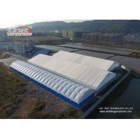China 1000sqm Large PVC Industrial Outdoor Warehouse Tent Structures Steel Frame wholesale