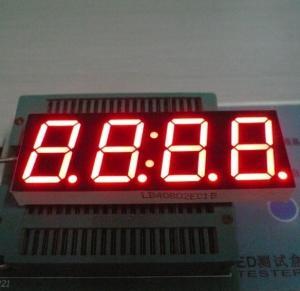 China High Luminous 4 Digit Seven Segment Display Common Cathode 0.80 Inch wholesale