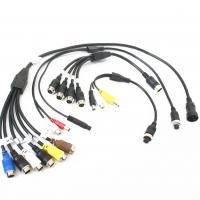 China Customized Male To Female Backup Camera Extension Cable ROHS / CCC wholesale