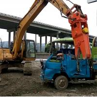 China Rotary Hydraulic Cutting Machine/Scrap Shear Excavator Pulverizer For Sale wholesale