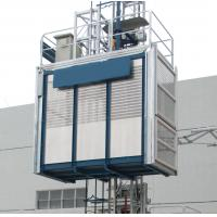 China 1.6T Construction Elevator Vertical Rack and Pinion Hoist 3 × 1.4 × 2.5m wholesale
