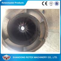 China Biomass Rotary Drum Wood Pellet Dryer Equipment with 12 months Warranty wholesale