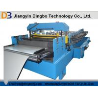 China PLC Control Ceiling Metal Wall Panel Roll Forming Machine For 0.3 - 0.8mm Aluminium Steel wholesale