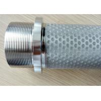 China Dust collector SS sintered cloth filter cartridge filter elements on sale