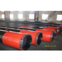 China OCTG API J55 Oil Casing Pipe With Black Painting 5m - 12m Heat Extrusion wholesale
