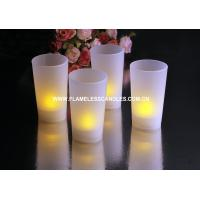 China LED Artificial Candle Light Flickering Flameless Votive Candles with Battery Powered on sale