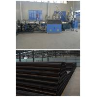 China PP PP PPR Pipe Extrusion Line , High Efficient Single Screw PE Pipe Extruder Machine wholesale