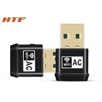 China 2.4Ghz 5ghz WPS dongle AC USB Wifi Wireless Adapter with internal antenna wholesale