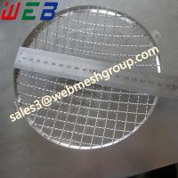 """China 7"""" (180mm) Stainless Steel Headlight Stone Guard Grille wholesale"""