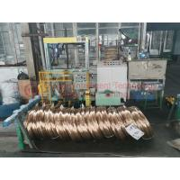 China High Speed Steel Wire Coil Packing Machine / Powerful Ring Wrapping Machine wholesale