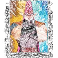 China LED Frame 30*40cm 3D Anime Poster For Home Decoration wholesale