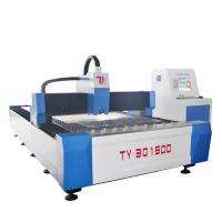 China 700W / 1000W Stainless Steel Fiber Laser Cutting Machine , 3mm Cutting Thickness wholesale