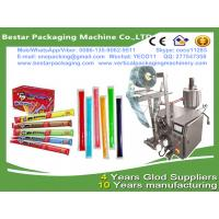 China High speed ice lolly packing machine,ice lolly packaging machine with touch screen and date printing machine wholesale
