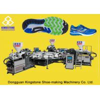China Rotary Three Color TPR PVC Sole Making Machine Direct Injection Moulding wholesale