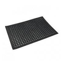China Hollow Out And Anti-slipped Rubber Door Mat  With Customised Logo wholesale