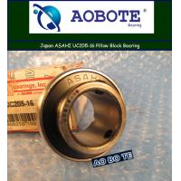 China Single Row Pillow Block Bearing With High Speed , Japan ASAHI UC205-16 wholesale