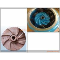 China High Effcient Cast Process Mining Slurry Pump Impeller Corrosion Resisting wholesale
