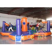 China Basketball Challenge Bungee Run nflatable Sport Game , Inflatable Bungee Run With Basketball wholesale