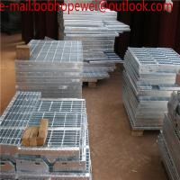 China Hot Dipped Galvanized Serrated End Bar Sheet Metal Stainless Steel Grating/Hot-Dipped Galvanized / Driveway Steel gratin wholesale