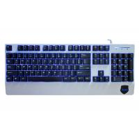 Quality 104 Keys Anti Ghosting Gaming Keyboard , Red Blue Purple Backlit Gaming Keyboard for sale