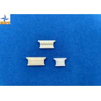 China Single Row 1.25mm Pitch  Connector , Wire To Board Power Connector Gold Plated Terminal wholesale