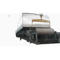 China 300gsm 4400mm 350m/Min Wood Pulp Making Machine on sale
