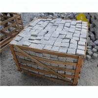 Quality Light Silver Granite Effect Paving Slabs Corrosion Resistant Design for sale