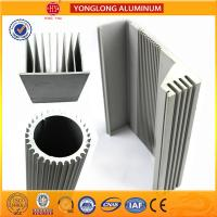 China Silver White Industrial Powder Coated Aluminium Extrusions Heat Insulation wholesale