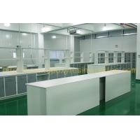 China Epoxy resin chemical resistance laboratory bench top / laboratory workbench on sale