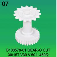 China B103578-01 GEAR O-CUT TEETH-30/15 FOR NORITSU qsfV30,V50,V100 minilab wholesale