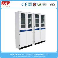 China Useful Stainless Steel Grey / White Reagent Cabinet For Laboratory wholesale