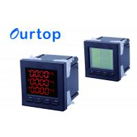 China Electric Power Digital Panel Meter 3 Phase With Power Pulse Transmission Output Function wholesale