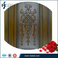 2015 new design high end customized timber door manufacturers China