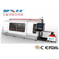 China High Precision Metal Laser Cutting Machine CNC Laser Tube Cutter 1000W wholesale