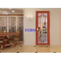 China Home Builders Aluminium Clad Wooden Doors on sale
