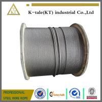 China STEEL WIRE ROPES 6*24+7FC 22mm/steel wire rope /good quality on sale