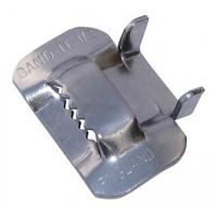 China Piples Fixing Use Stainless Steel Strap Buckles , Metal Banding Clips BK Type wholesale