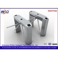 Semi Automatic Access Control Tripod Turnstile Gate Stainless Steel ...
