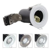 Die Cast Aluminium GU10 Fixed Fire Rated Downlight - White Color